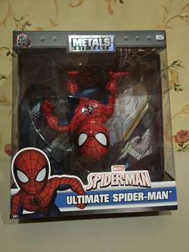 Spiderman action figure metals die cast