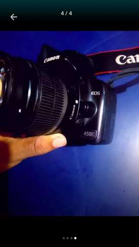 Canon 450D with Bag Charger