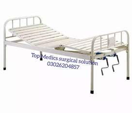 Patient bed and hospital equipment & manual Wheel Chair Disable person