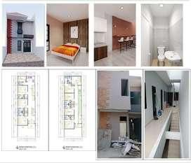 Dijual Rumah Baru Kos²an daerah Rawamangun, Jakarta Timur