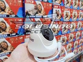PAKET CCTV SPC 2MP 2CHANNEL!