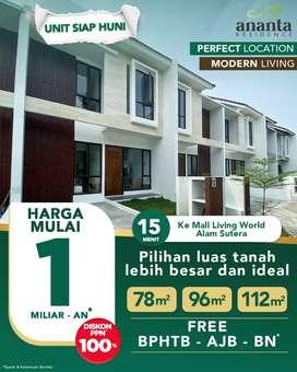 ananta residence   |  rumah ready | perumahan siap huni | buana garden