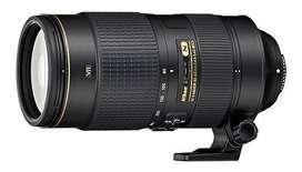 Nikon 80-400 mm G ED VR