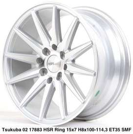 velg TSUKUBA 560 HSR R16X7 H8X100-114,3 ET40 SMF