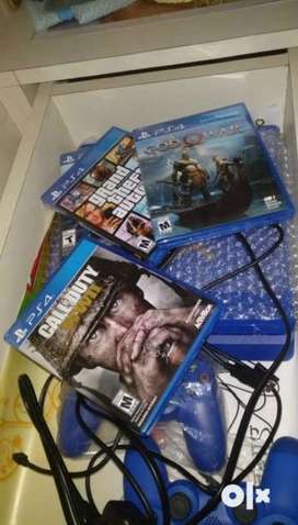 PS4 Special Edition 1 TB Blue & Gold