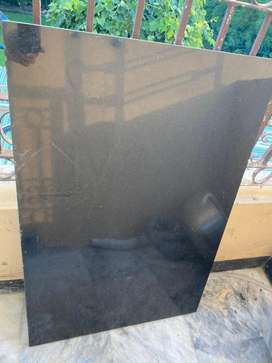 Black Granite cut piece 3x2 feet 6 sq. feet