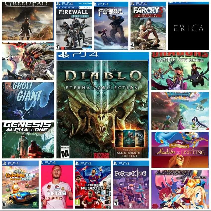 GAME PS 4 GAME KEKINIAN Bebas Pilih terjangkau murah meriah harganya 0