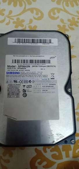 Samsung 80Gb hard disk