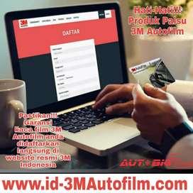 Kaca film 3M Autofilm Asli bergaransi resmi card E-warranty 5 tahun