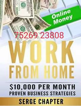 Just Complete typing projects earn money work on Computer or laptop