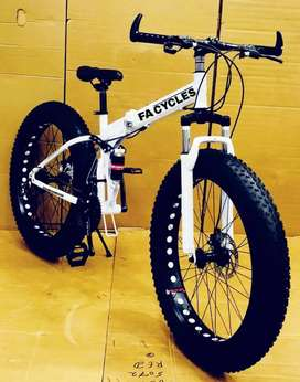 NEW FAT TYRE FOLDING CYCLE AVAILABLE IN 21 GEARS SPEED