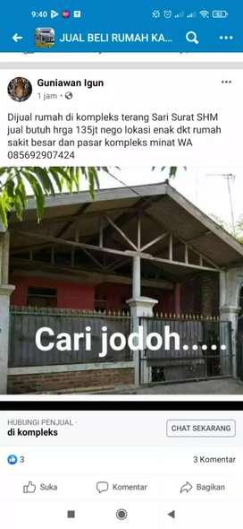 Rumah dijual jual butuh