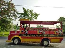 kereta mini wisata usaha DAP labirin bundar  persewaan mainan