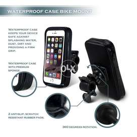 Mobile Stand 2 IN 1 Bike Phone Mount Adjustable Waterproof Rotating