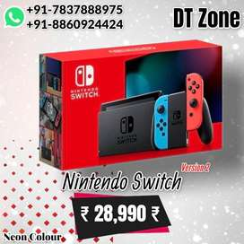 Nintendo Switch Version 2 - New Sealed Box - Red Version 2 @dtzone