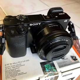 Sony A6000 Mirrorless Mulus, Kinclong & Fullset