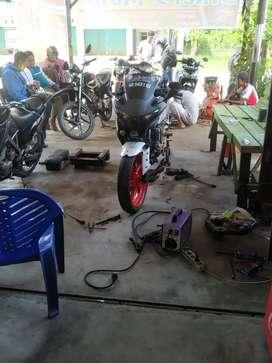 Take Over Bengkel Motor dan Alat Kerjanya