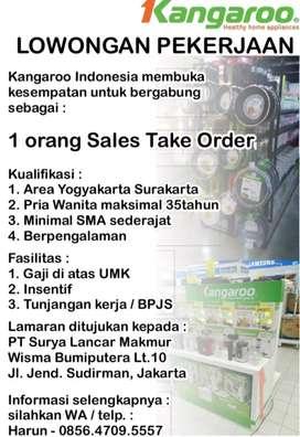 Sales Take Order Area Yogyakarta Surakarta