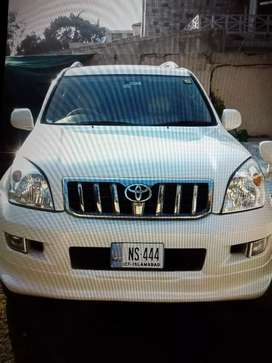 Prado for rent in Islamabad 8,000/day