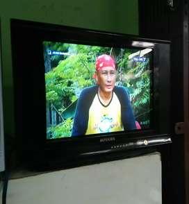 Tv 21 inci merk AOYAMA slim layar datar