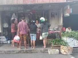Dikontrakan toko di Denpasar area pasar