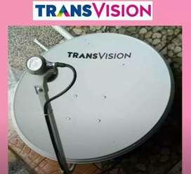 Parabola Transvision HD resmi area Martapura promo lengkap harga murah