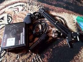 Mic BM - 800 + Stand mic meja taffstudio