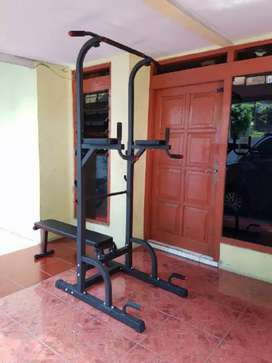 Pull up bar fitness rumahan,Bisa Kredit
