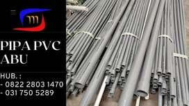 Pipa PVC Abu Berbagai Ukuran