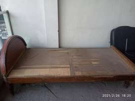 Single Bed Wooden
