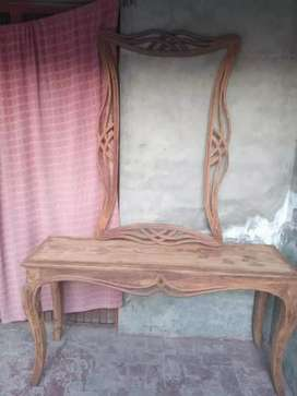 New furniture like as Bed Set Sofa set Table Set Almari Jhoola Chairs.