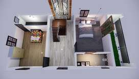 820 Sq.ft, 2BHK Approved Flat for Sale in Urapakkam