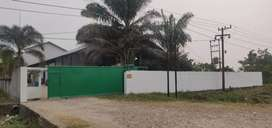 Di jual tanah dan bangunan nya di daerah pusat kota padang