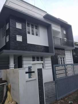 3.bhk 1300 sqft 3 cent new build  at paravur thathapally road 100 mtr