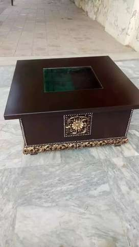 coffee table new Brown color