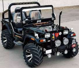 Full Modified open Jeep ready your booking