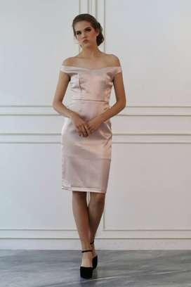 ELLIE NUDE - S0129 , DRESS PESTA MURAAHHH!!!