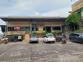 Bangunan/Ruko lokasi strategis dekat pintu tol Jagorawi Citeureup