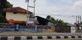 Gudang dijual di jln.Raya Parung Bogor