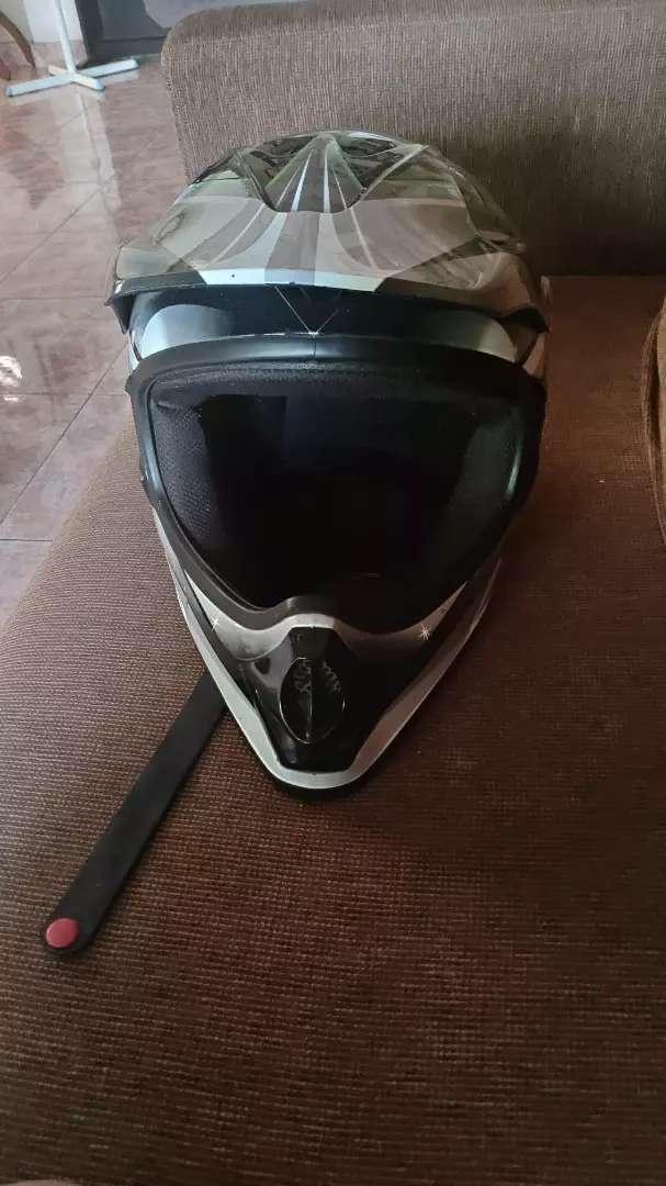 Helm KLX 250 jarang pakai 0