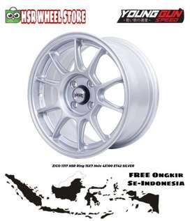 Velg Ring 15 HSR ZICO FC Velg Agya Splash Brio Mirage Datsun Go Dll