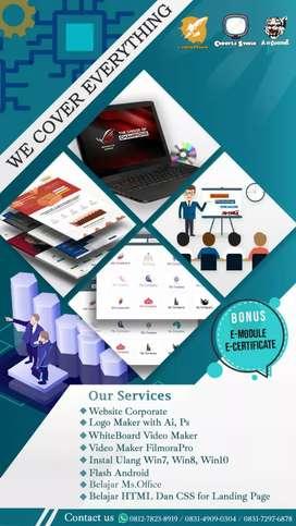 Jasa pembuatan Website Logo Vector Vidio dan Pemodelan UML dan DFD