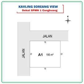Tanah Kavling Bandung Selatan SHM Dekat POLRESTA, 12X Cicil Bunga 0%
