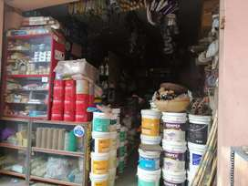 Paints & Hardware shop for sale