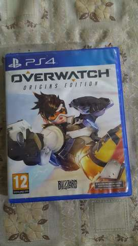 Overwatch ps4 Origin Edition Region 2