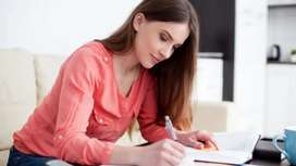 Handwriting work weekly payments