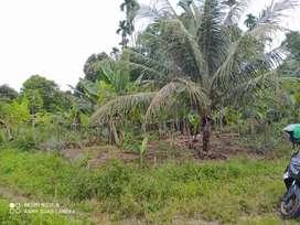 Dijual tanah seharga Rp. 160.000.000