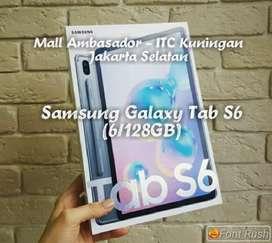 Samsung Galaxy Tab S6 (6/128Gb) Resmi *Bisa Kredit tanpa Cc