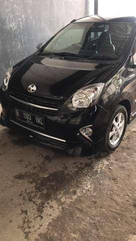 Toyota Agya TRD S M/T hitam th 2016
