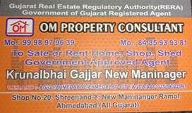 ન્યુ મણિનગર વિસ્તારમાં 1bhk , 2bhk ,3bhk available for Rent and sale